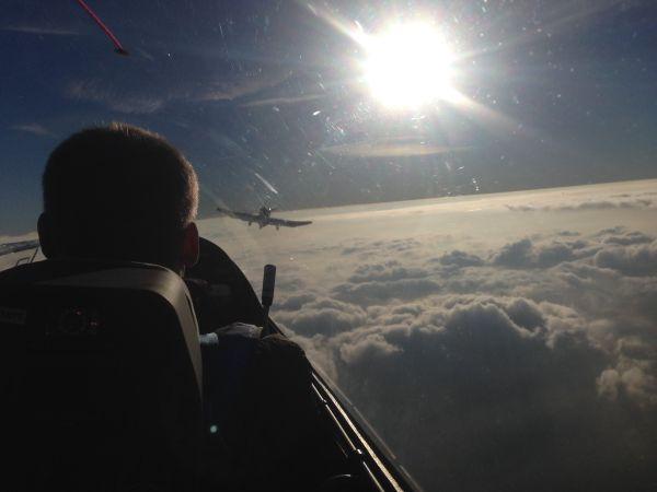 Über den Wolken Oktober