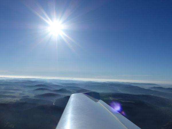 Kalte Jahreszeit Motorflug k