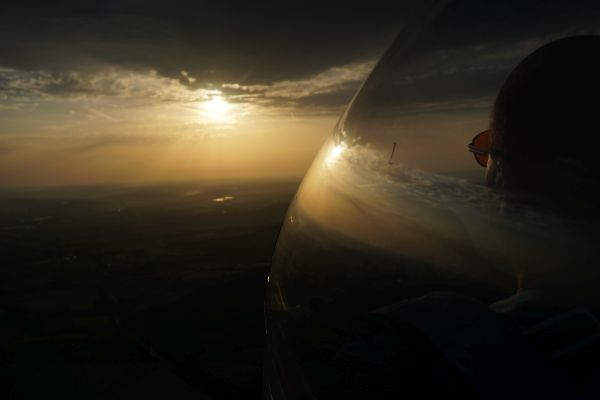 Perkoz Günne sunset